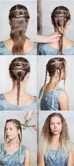 Einfache Hochsteckfrisurenen Mittellange Haar Anleitung by Oben Mittellange Haare Und Pony Deltaclic