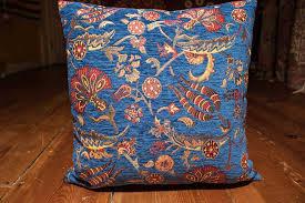 Ottoman Pillow Small Blue Ottoman Cushion Cover 44x44cm
