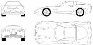 c5 corvette dimensions the blueprints com blueprints cars chevrolet chevrolet