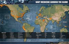 Naval Base San Diego Map by Navy Medicine Facilities And Commands