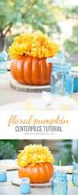 craft floral pumpkin centerpiece see vanessa craft