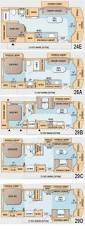 rv class c motorhome floor plans class c motorhomes floor plans