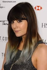 salt and pepper hair colour lilah parsons ever changing hair colors