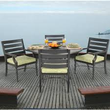 Aluminum Patio Dining Set Novara Cast Aluminum Patio Dining Set 5 Ca 704 Set5 Cozydays