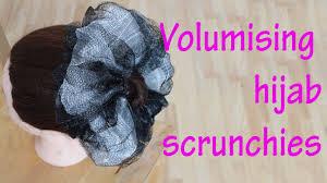 hair scrunchy voluminous hair scrunchies for updo s or by fatihasworld