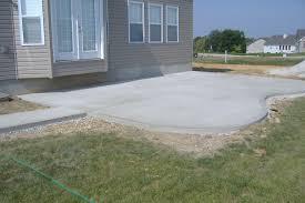 Painting Concrete Patio Slab Download Backyard Concrete Patio Garden Design