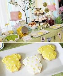 baby shower tableware 41 gender neutral baby shower décor ideas that excite digsdigs