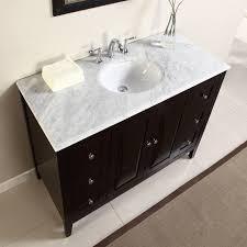 bathroom vanities 48 narrow taren bamboo vanity cabinet only