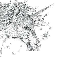 coloring pages of unicorns and fairies coloring pages unicorn coloring page book by pages fairy and for