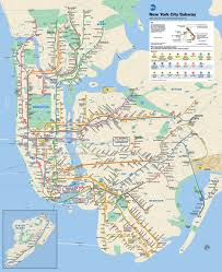 Picture Of Map Mta Info Mta Subway Map