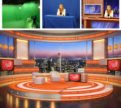 improving a broadcast journalism project with chroma keying