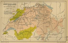 Map Of Vienna Map Of Switzerland In 1803 The Mediation Act