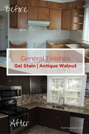 can i stain my kitchen cabinets general finishes gel stain general finishes kitchens and cheap