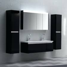 Bathroom Wall Mounted Cabinets Wall Hung Vanity Milan Modern Wall Hung Basin Vanity Unit Gloss