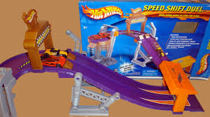 Finish Line Flag Wheels World Speed Shift Duel Racing Playset With Finish Line