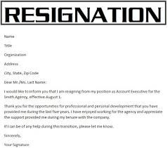 resignation letter perfect format letter of resignation nz