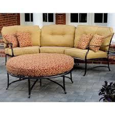 agio heritage outdoor semi round sectional sofa wilson u0027s