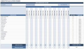 hr annual report template free employee performance review templates smartsheet groupevaluationform jpg