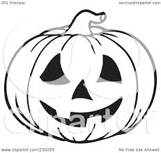 free jack o lantern clipart royalty free rf clipart illustration of a coloring page outline