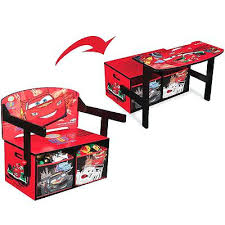 bureau cars disney table et chaise cars disney pixar cars 2 lightning mcqueen desk and