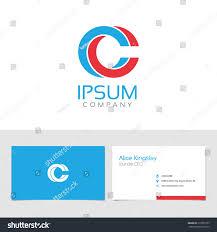 Elegant Colors Vector Graphic Elegant Impossible Alphabet Symbol Stock Vector