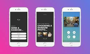 rando is a random social sharing app that lets you play russian