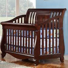 Espresso Convertible Crib by Creations Coco Bay Convertible Crib And Guard Rail In Espresso