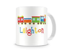 personalized choo choo mugs personalized cup