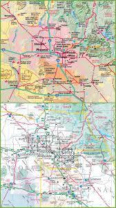 Phoenix City Map by Phoenix Map Kredi Notu