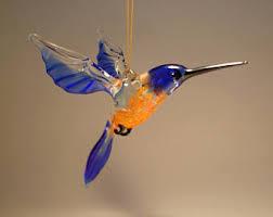 hummingbird ornament etsy