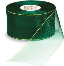 organdy ribbon midori gold and silver edged organza ribbon wholesale prices