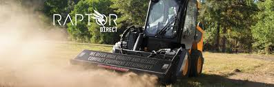 about us raptor direct skid steer mini excavators and utility