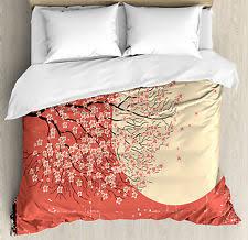 Cherry Duvet Cover Cherry Blossom Bedding Ebay
