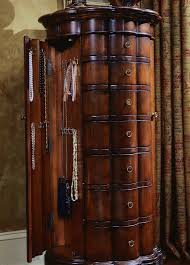 Where To Buy A Jewelry Armoire Hooker Furniture Accents Shaped Jewelry Armoire Cherry 500 50 540