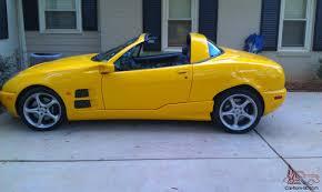 Exotic Car Interior Italian Yellow Coupe Convertible Targa Exotic Car