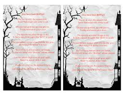Halloween Poem Short Scrap N Teach You U0027ve Been Booed