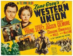 western union blu ray randolph scott
