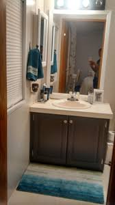 my mobile home master bathroom makeover intobaby com