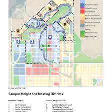 Ucr Campus Map Calisphere Campus Height And Massing Districts Uc Merced Long