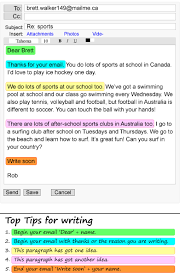 an email about sports learnenglish teens british council