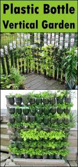 kitchen gardening ideas build a vertical garden from recycled soda bottles soda bottles