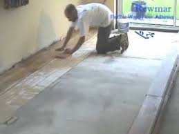 installing a solid oak floor with rewmar ms polymer