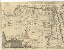Map Egypt Map Of Ancient Egypt Circa 1856 Historical Maps Pinterest