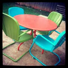 205 best vintage metal lawn chairs images on pinterest outdoor