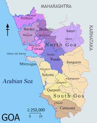 North India Map by North Goa India Pictures Citiestips Com