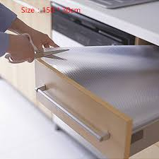 cabinet and drawer liners 150 30cm eva transparent non adhesive cupboard cabinet shelf