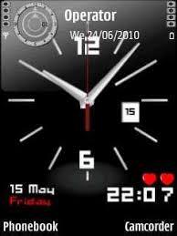wallpaper bergerak sony xperia analog clock v5 for nokia e63 free download