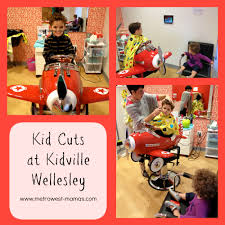 kid cuts haircuts at kidville wellesley metrowest mamas
