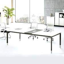Large Boardroom Tables Modern Conference Table White Modern Conference Table 3d Model