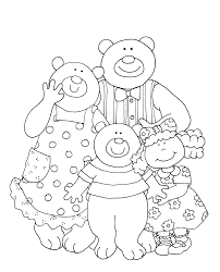 colour by number goldilocks goldilocks and the three bears